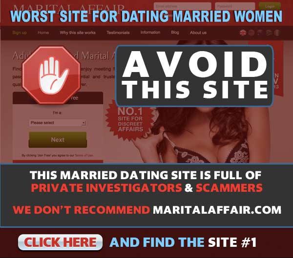 MaritalAffair.com user complaints and scams